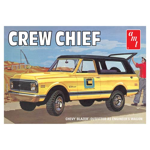 1972 Chevrolet Blazer Crew Chief Model Kit