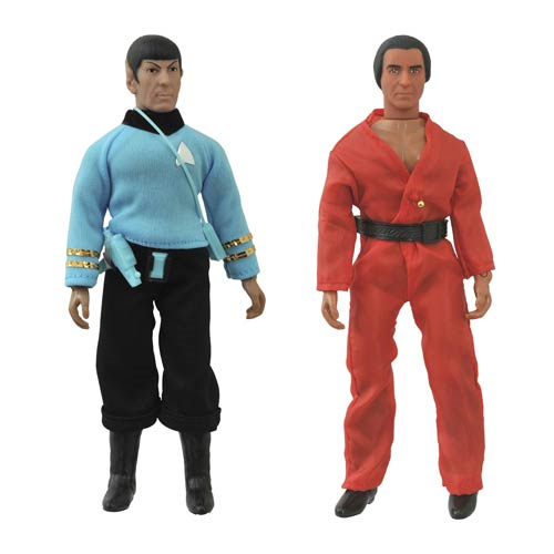 Star Trek: TOS Spock and Khan Retro Action Figure Set