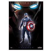 Captain America: Civil War Team Cap MightyPrint Wall Art Print