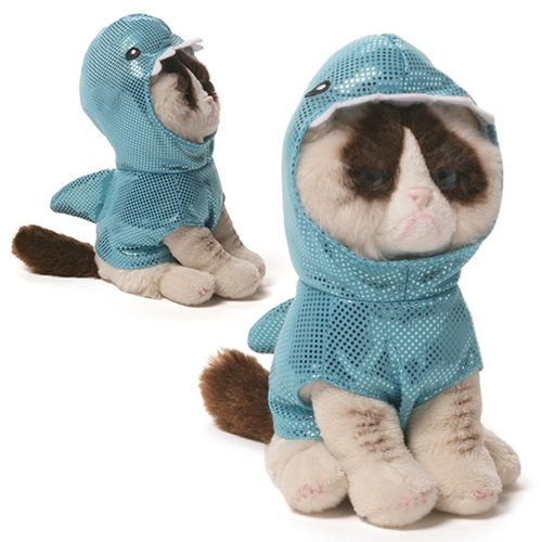 Grumpy Cat Shark Beanbag 5-Inch Plush