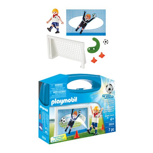 Playmobil 5654 Soccer Shootout Carry Case