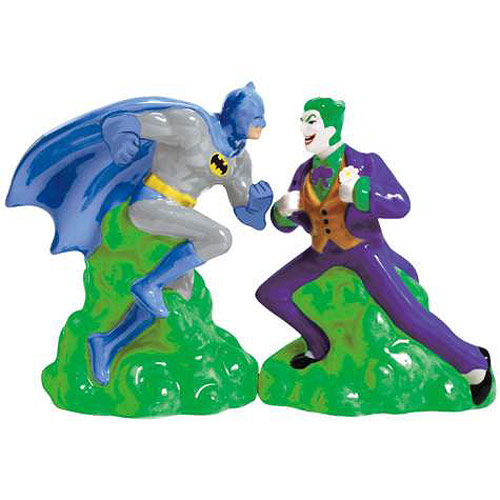 Batman vs. The Joker Salt & Pepper Shakers