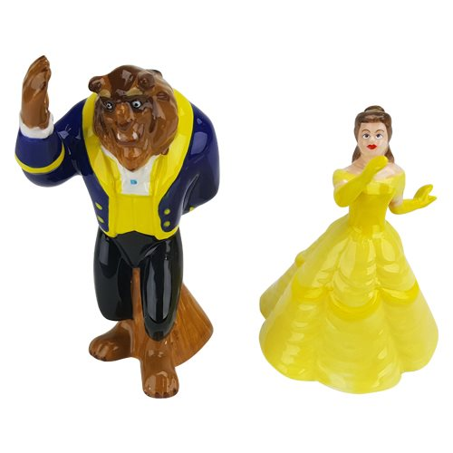 Beauty and The Beast Sculpted Salt and Pepper Set