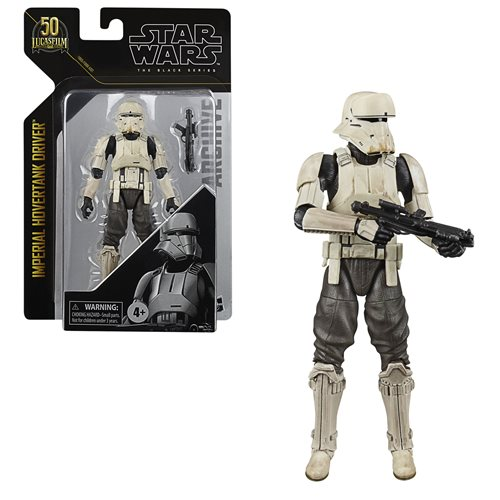 Star Wars The Black Series Imperial Hovertank Driver Figure