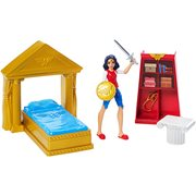 DC Super Hero Girls Wonder Woman Bedroom Playset