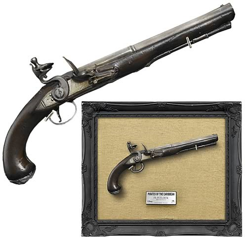 Pirates of the Caribbean Jack Sparrow Flintlock Replica