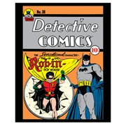 Batman Detective Comics Robin Comic Cover Canvas Print