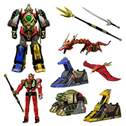 Mighty Morphin Power Rangers Legacy Thunder Megazord Die-Cast Action Figure