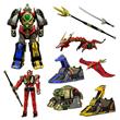 MM Power Rangers Legacy Thunder Megazord Die-Cast Figure