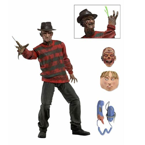 Nightmare on Elm Street Ultimate Freddy 30th Anniversary 7-Inch Action Figure