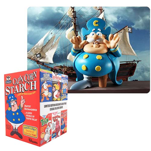 Capn Cornstarch Cereal Killers Series Last Fat Breakfast by Ron English Designer Vinyl Figure