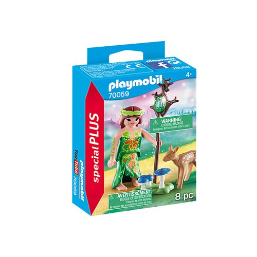 Playmobil 70059 Special Plus Fairy with Deer Action Figure