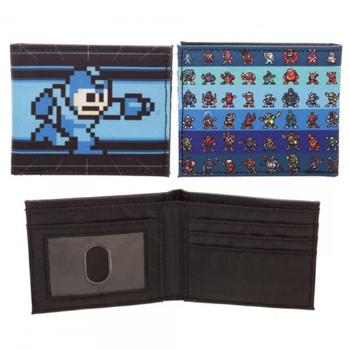 Mega Man 8-Bit Sublimated Bi-Fold Wallet
