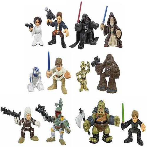 SW Galactic Heroes 2-Pack Wave 3, Revision 1 Set