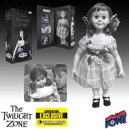 The Twilight Zone Talky Tina Doll Replica