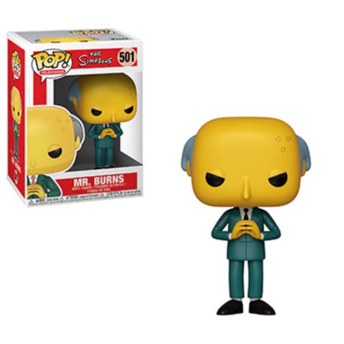Simpsons Mr. Burns Pop! Vinyl Figure, Not Mint