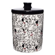 Disney 101 Dalmatians Treat Canister Cookie Jar