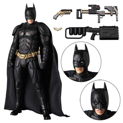 Batman Dark Knight Rises MAFEX Version 3.0 Action Figure - Previews Exclusive