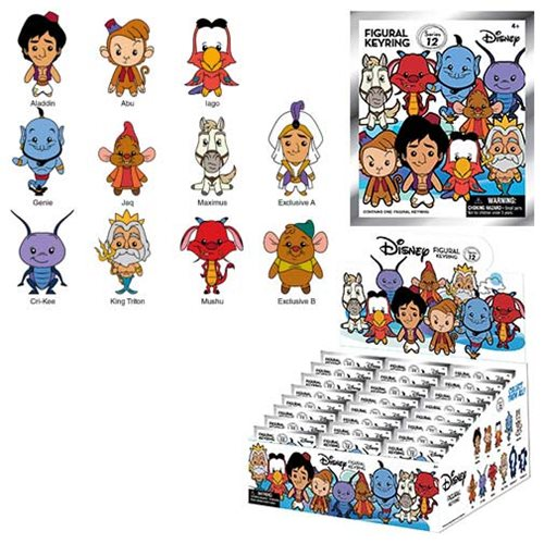 Disney Series 12 3-D Figural Key Chain Display Case