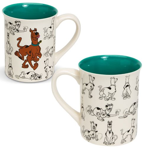 Scooby-Doo Model Sheet Mug
