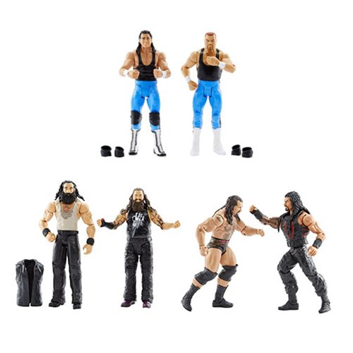 WWE Basic 2-Pack Series 47 Action Figure Case