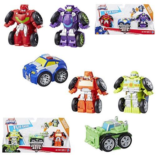 Awesome Transformers Rescue Bots Flipracer Multipacks Wave 1 Set