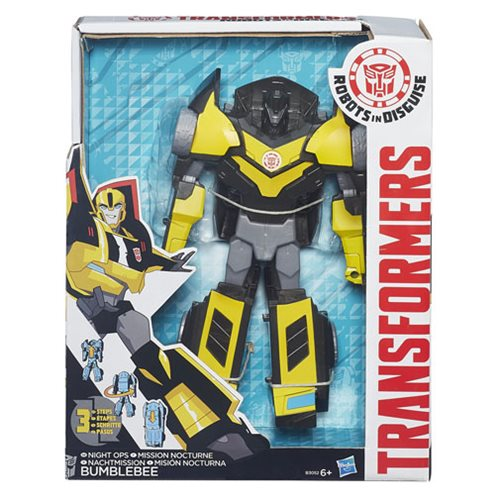 Transformers Robots in Disguise Bumblebee Figure, Not Mint