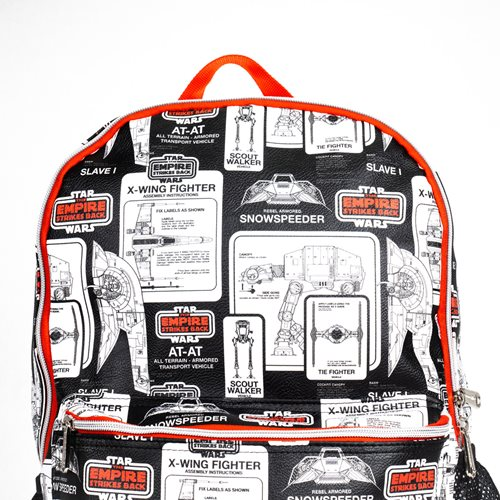 Star Wars: Episode V - The Empire Strikes Back 40th Anniversary Backpack - Entertainment Earth Exclu