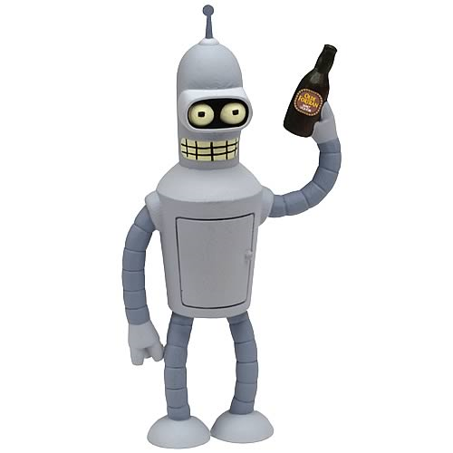 Futurama Super Heavyweight Die-Cast Metal Bender Figure
