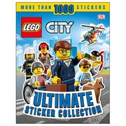 LEGO City Ultimate Sticker Collection Paperback Book