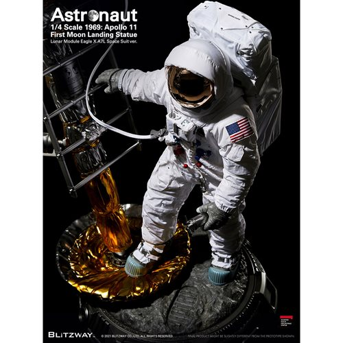 Astronaut Apollo 11 LM-5 A7L ver. The Real 1:4 Scale Statue