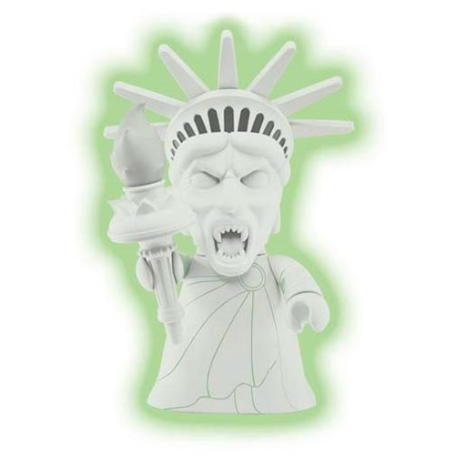 Doctor Who Titans Statue of Liberty Weeping Angel Glow-In-The-Dark 8-Inch Vinyl Figure