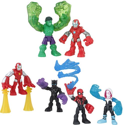 Super Hero Adventure Action Figure 2-Packs Wave 1 Case