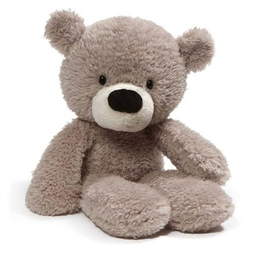 Fuzzy Teddy Bear 13 1/2-Inch Plush