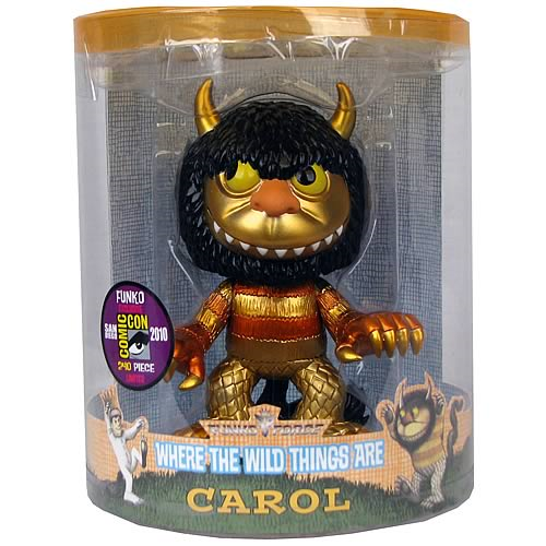 SDCC Where the Wild Things Are Metallic Carol Funko Force
