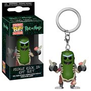 Rick and Morty Rick in Rat Suit Pocket Pop! Key Chain