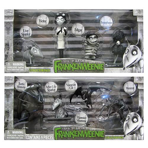 Frankenweenie Action Figure Collector Pack Set