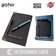 Harry Potter Tom Riddle's Diary Notebook and Invisible Wand Pen - Convention Exclusive, Not Mint