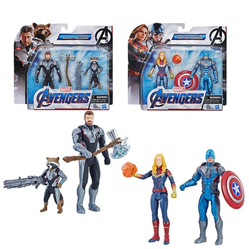 Avengers Endgame Team 6-Inch Action Figure Packs Wave 2 Set