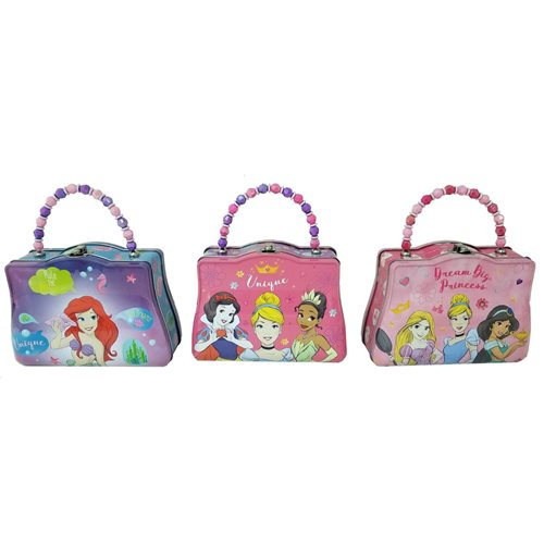 Disney Princesses Purse with Beaded Handle Tin Tote Set