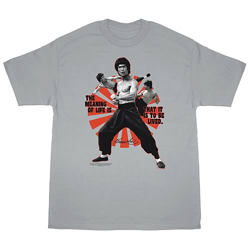 Bruce Lee Meaning of Life T-Shirt