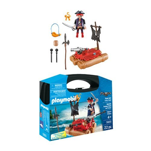 Playmobil 5655 Pirate Raft Carry Case