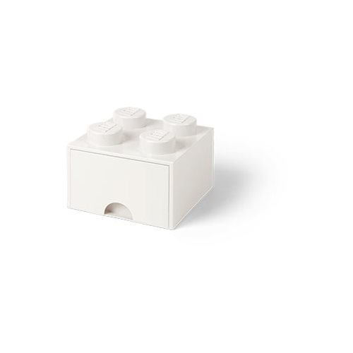 LEGO White Brick Drawer 4
