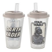 Star Wars Darth Vader 16 oz. Flip Straw Acrylic Cup