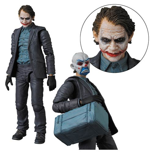 Batman The Dark Knight Movie Joker Version 2 Miracle Action Figure - Previews Exclusive