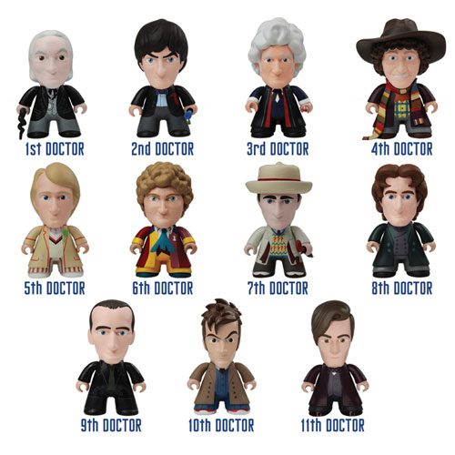 Doctor Who Titans 50th Anniversary Vinyl Figure Display Box