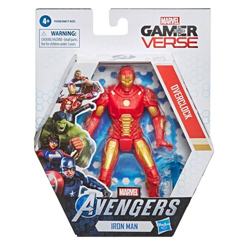 Marvel Gamerverse 6-inch Iron Man Overclock Action Figure