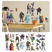 The Legend of Zelda: Ocarina of Time 3-D Peel and Stick Wall Decals