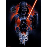 Star Wars The Dark Side by Vance Kelly Lithograph Art Print