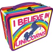 I Believe in Unicorns Gen 2 Fun Box Tin Tote